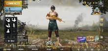 حساب ببجي مع سكينات و أسلحة خرافية. المستوى : 40