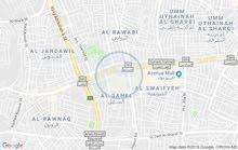 محل تجاري للإيجار بدون خلو 190 متر  بابين الدوار السابع بناية الملكيه الاردنيه