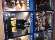 5PS4 games for sale