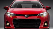 Automatic Toyota 2015 for rent