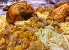 طباخ مأكولات عمانية و خليجية