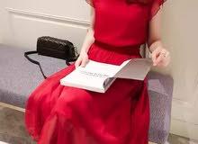 فستان  موديلات تورينا لون واحد الذوق الرفيع
