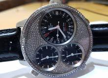916b6d2e88c12 مستعجل ساعة جلايكين سويسرية فاخرة مصنوع منها 50 ساعة فقط - مرصعة 2 قيراط  الماس
