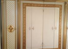 غرف نوم مصري ضخمه وملوكيه ومرتبه خشب ثقيل وقوي جدا جدا