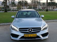 Mercedes Benz C 200 car for sale 2015 in Muscat city