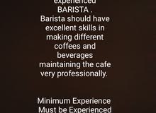 A newly stating CAFE in OMAN ( Muscat ) is looking for well experinced BARISTA