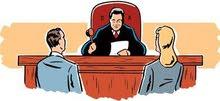 المحامية الخبيرة القضائية سهى شاكر والمحامي ابراهيم حسين