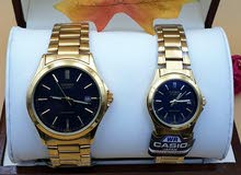 promotion:- couple Casio watch made in Japan
