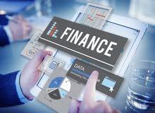 ابحث عن عمل جزئي او كلي في المالية والحسابات