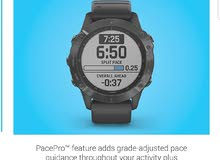 Garmin Fenix 6 Pro, Premium Multisport GPS Watch, Features Mapping, Music, Grade