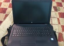 للبيع جهاز لابتوب بحالته جديد hp   . Processor core is . HDD 1 Tera . Ram 8 Giga