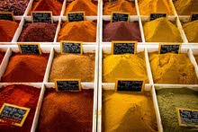 Hire a dealer in a spice shop