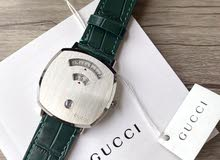 Grip watch 38mm Silver Dial Green
