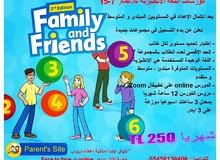 كورسات لغة انكليزية للاطفال من 7 الى 15