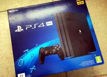 Sony PS4 Pro with 2 controllers