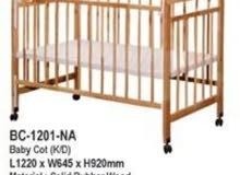 سرير اطفال جديد للبيع