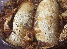 عسل سدر بري  الخليه مع العود 350 شامل التوصيل  الغرشه 450 شامل التوصيل عسل مع الشمع 450 شامل التوصيل