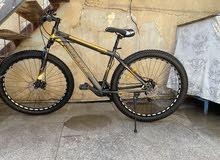 دراجة جبلية نوع migeer meg 3.0 حجم 29 و سُمك التاير 3.0 انج