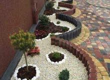 تصميم وإنشاء الحدائق