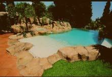 swimming pools-برك سباحة-مسابح فايبر جلاس-شلالات نوافير -اعمال ديكور خارجي