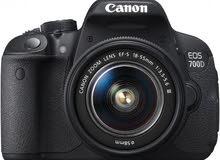 كاميرة كانون دي 700 - Camera canon 700 D