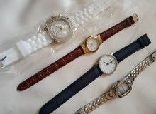 ساعات بالوان مختلفة ماركة فرنسية