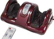 جهاز مساج القدمين بضغط بالونات الهواء مع العجلات اسفل القدمين وكما يمكن تشغيل ال