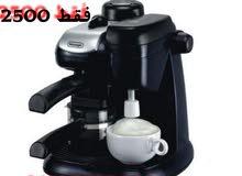 للبيع ماكينة قهوة اسبرسو ديلونجي جديدة.