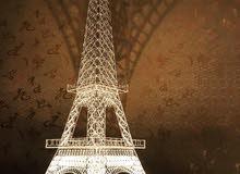 برج ايڤل ديكور