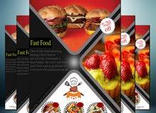 تصميم جرافيك و اعلانات تجاريه و اعلانات لكافه المنتجات