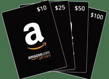 Amazon gift card 303$ امازون قيفت كارد