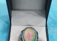 خاتم يتغير لونه - خاتم المزاج