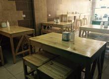 عدة مطعم كامل للبيع (عمان-الجبيهه)