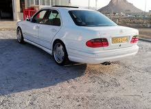 Mercedes Benz E550 2001 For sale - White color