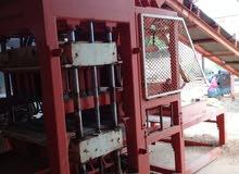مصنع لطول الاسمنتي ( بومشي فورمات .10.15.20. )بحالة ممتازة.للبيع .