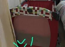 سرير اطفال قابل للطي بسعر 100 ريال