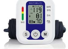 Blood pressure monitor new with direct use option  with phome charger
