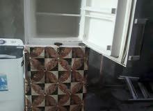 ثلاجة مستعملة شغالة 14 قدم ب100 الف وسخان نظيف جدا ب70