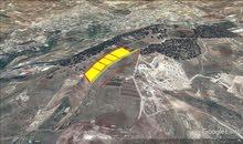 ارض للبيع جرش انبي هود في اعلى قمه حميع الخدمات مساحه 4500م