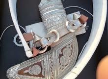 خنجر عمانيه بصياغه جميله جدا