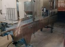 ماكينة كاسات مياه أربع خطوط قطع اوروبي تجميع صيني بحالة الوكالة سرعة انتاج كاسات