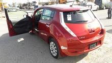 Nissan Leaf 2015 حره - بطارية 12 بار