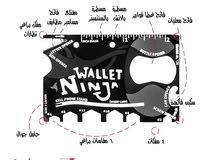 18 خدمة في كارت محفظة الننجا WALLET NINJA