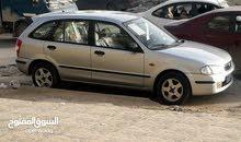 مازدا 323f نظيفه للاستبدال او البيع