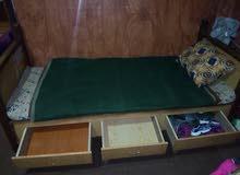 تخت مفرد خشب زان مستعمل