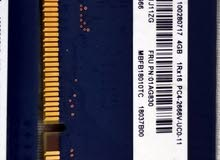 4 قطع رامات DDR4 شبة جدد(ديسكتوب)