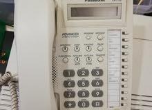 Panasonic PBX with telephone