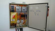 شركة وادي كبكب توزيع الكهرباء.  Electrical  service connection MEDC passing cable