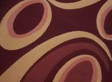 فرش مستعمل استعمال بسيط ونظيف