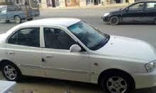 For sale Hyundai Verna car in Misrata